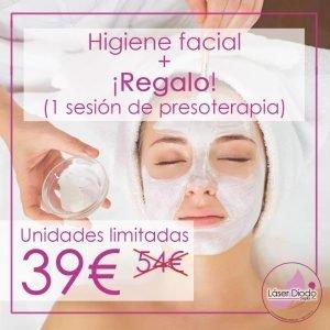 Limpieza facial + REGALO