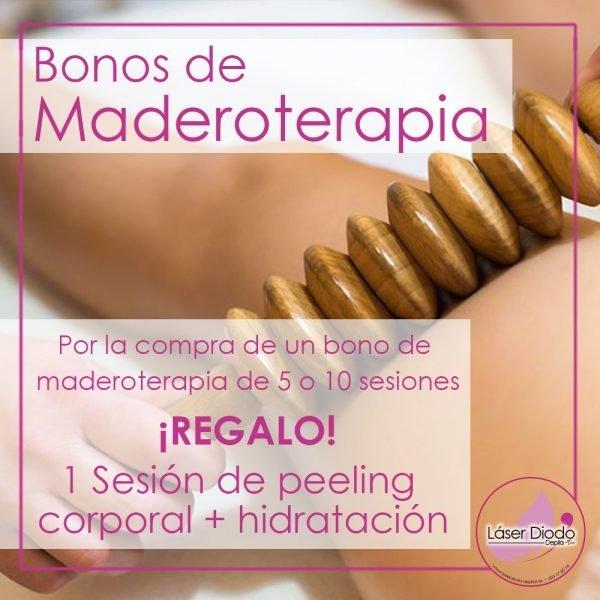 Bonos Maderoterapia + REGALO